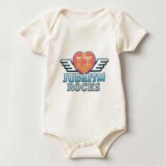 Judaism B Rocks Baby Bodysuit
