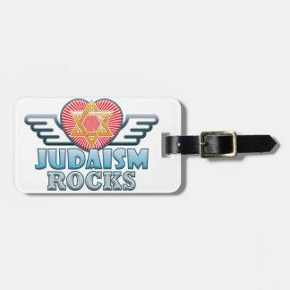 Judaism B Rocks Luggage Tag