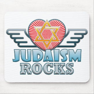 Judaism B Rocks Mouse Pad