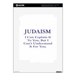 Judaism .. Explain Not Understand Skin For iPad 3