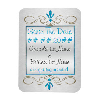 Judaism Flourishes- Save The Date - Personalized Magnet