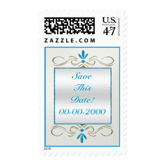 Judaism Flourishes - Save The Date - Personalized Postage