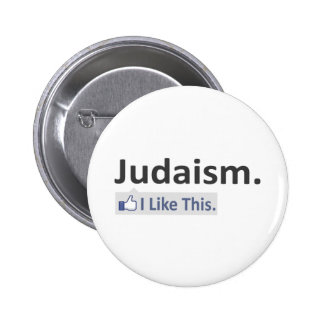 Judaism...I Like This Pinback Button