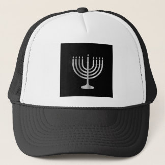 Judaism Menorah Trucker Hat