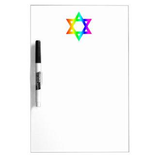 Judaism (Star Of David) Symbal Dry-Erase Whiteboards