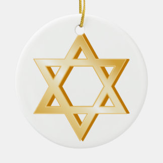 Judaism Symbol Ceramic Ornament