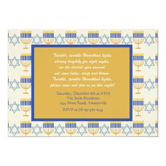 Judaism Symbols Holiday Invitation
