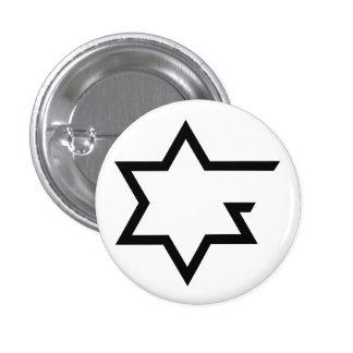 Judaísmo de Open Source Pin Redondo 2,5 Cm