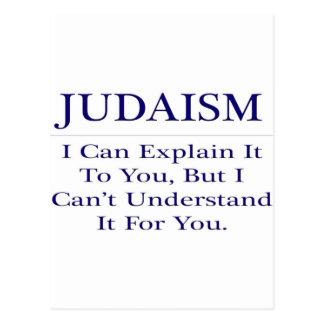 Judaísmo. Explique para no entender Postales