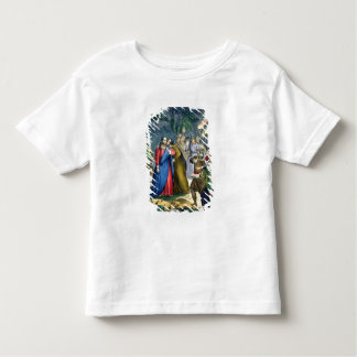 Judas Betrays his Master, from a bible printed by Toddler T-shirt