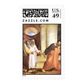 Judas Iscariot with 30 pieces of silver Postage