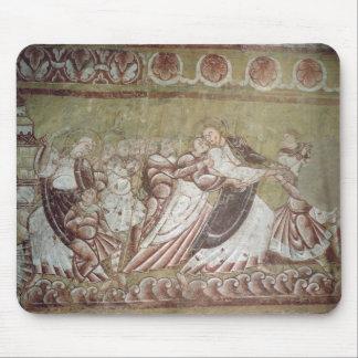 Judas Kissing Christ (fresco) (detail of 95750) Mouse Pad
