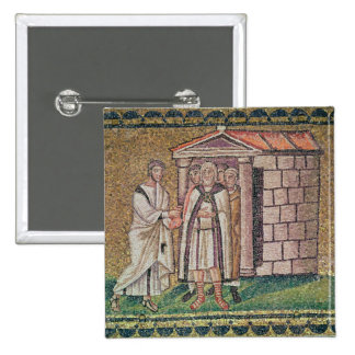 Judas Repents, Scenes from the Life of Christ 2 Inch Square Button