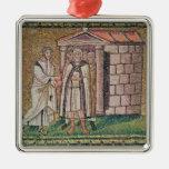 Judas se arrepiente, las escenas a partir de la vi adorno de navidad