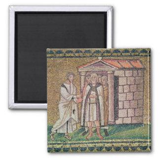 Judas se arrepiente, las escenas a partir de la vi imán cuadrado