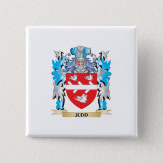 Judd Coat of Arms - Family Crest Pinback Button