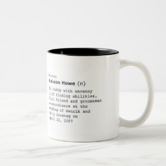 judd Two-Tone coffee mug