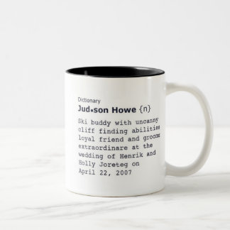 judd Two-Tone coffee mug