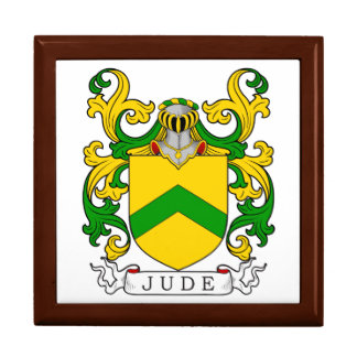 Jude Coat of Arms I Jewelry Boxes