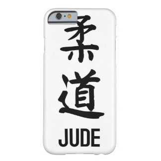 """""""JUDE"""" in Kanji Barely There iPhone 6 Case"""