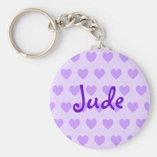 Jude in Purple Keychain