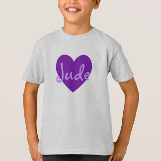 Jude in Purple T-Shirt
