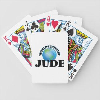 Jude más caliente del mundo baraja de cartas