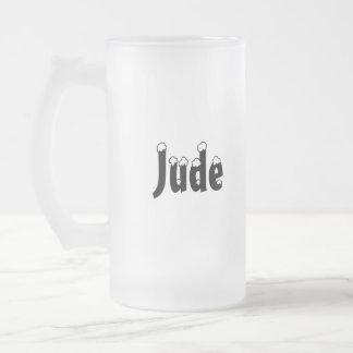 Jude-Name Style-Frosted Mug