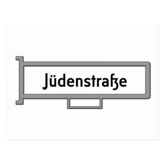 Jüdenstrasse, Berlin Street Sign Postcard