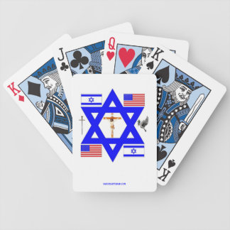 JUDEO-CHRISTIAN BICYCLE PLAYING CARDS