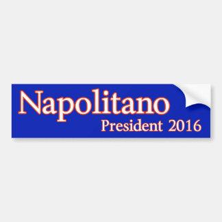 Judge Andrew Napolitano for President 2016 Car Bumper Sticker