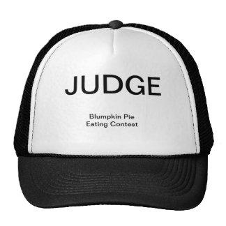 JUDGE, Blumpkin Pie Eating Contest Trucker Hats