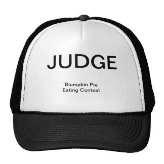 JUDGE, Blumpkin Pie Eating Contest Trucker Hat