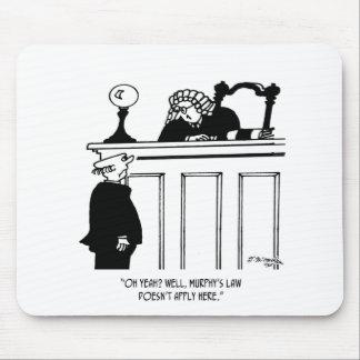 Judge Cartoon 4588 Mouse Pad