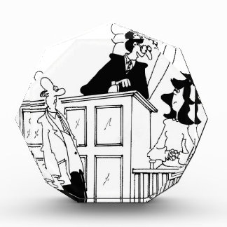Judge Cartoon 5321 Acrylic Award