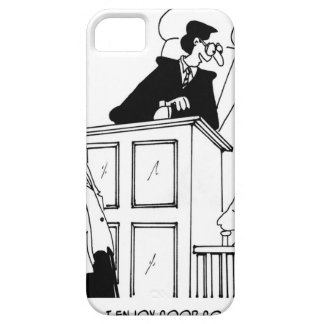 Judge Cartoon 5321 iPhone SE/5/5s Case