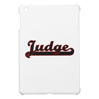 Judge Classic Job Design Cover For The iPad Mini