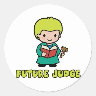 Judge Classic Round Sticker