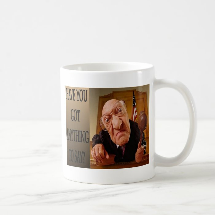 Judge Coffee Mug