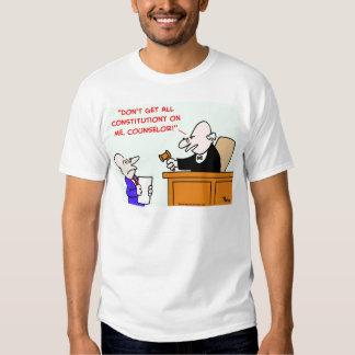 judge constitution t-shirt
