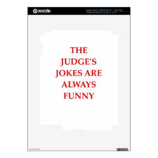 JUDGE DECALS FOR iPad 3
