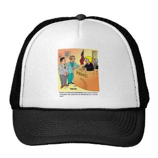 Judge / Defendant ? Lawyer cartoon humor Trucker Hat