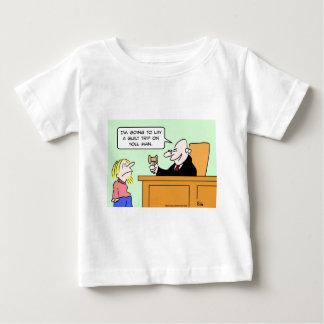 judge hippie guilt trip lay baby T-Shirt