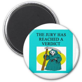 JUDGE joke 2 Inch Round Magnet