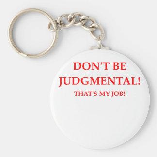 judge keychain