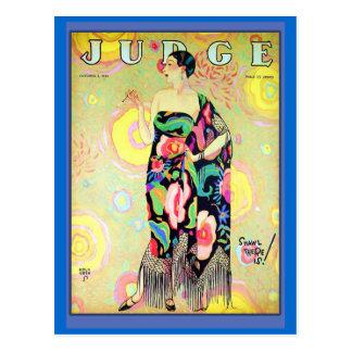 Judge Magazine Cover 1926 Postcard