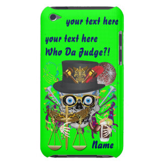 Judge Mardi Gras 30 colors Important view notes Barely There iPod Case