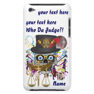 Judge Mardi Gras 30 colors Important view notes Barely There iPod Cover