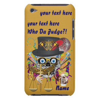 Judge Mardi Gras 30 colors Important view notes Barely There iPod Covers