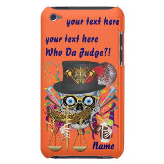 Judge Mardi Gras 30 colors Important view notes Case-Mate iPod Touch Case
